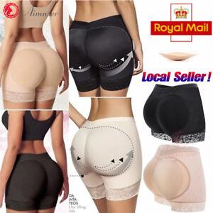 b2f385f5616 Women s Padded Bum Pants Enhancer Shaper Butt Lifter Booty Underwear ...