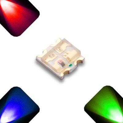 10 trozo de LED SMD 0805 auto RGB colores cambiantes lentamente