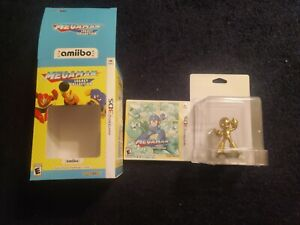 New-Mega-Man-Legacy-Collection-Collector-039-s-Edition-3DS-Gold-Mega-Man-Amiibo
