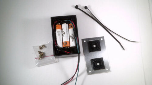 NEW COMPLETE 6 Volt Light Set With Volt Meter For Motorized Bicycles