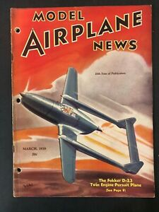 Vtg-Model-Airplane-News-Magazine-March-1939-airplane-plans-diagrams