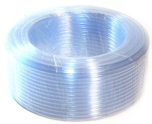 100Ft Clear Hose Flexible Air Water Delivery Tubing Aquarium Water Line 30 Meter