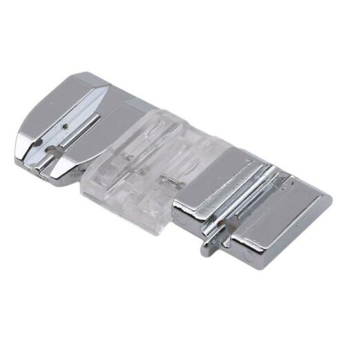 Domestic Invisible Zipper Foot Machine Parts Stainless Steel Set Rolled Hem 6T
