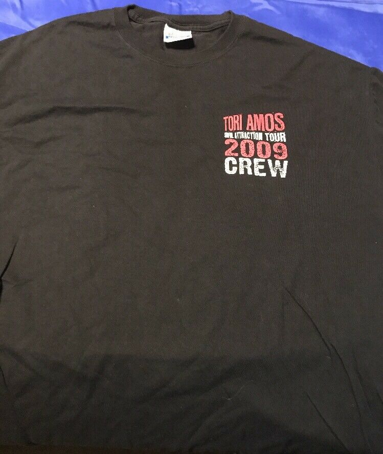 Toro Amos Sinful Attraction Tour 2009 Crew T-short Show Worn