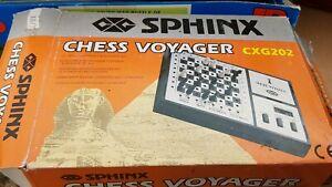 Sphinx D'échecs Voyager-afficher Le Titre D'origine