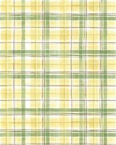 Yellow-amp-Green-Plaid-with-a-Touch-of-Red-Wallpaper-MK25370