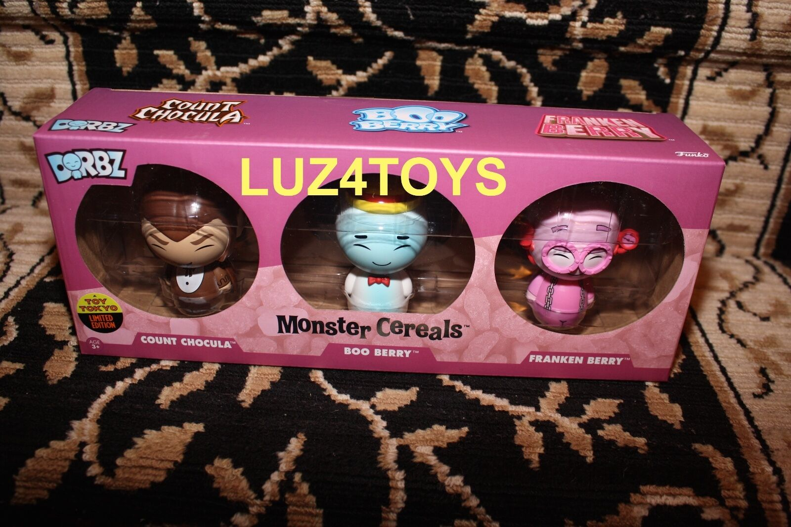 2016 NYCC Toy Tokyo Exclusive Funko Pop & Dorbz Dorbz Dorbz complete Set of 7 f0b09a