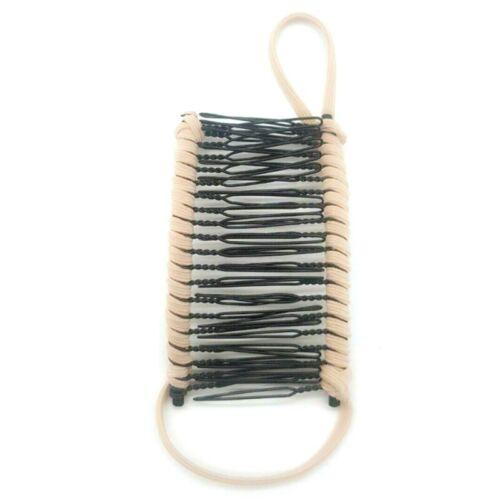Vintage Banana Hair Clip Double Comb Hair Accessory Stretchable Banana Comb Csy·