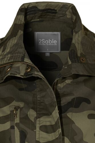 Army Camouflage Militær 3x Usa 2x 1x Anorak Ny Camo 2sable Fashion Plus Jacket Bwqp0ygCfx