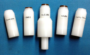 Pool Cue Lathe Tip Centering Tool 5 Pc 13mm 13 50mm 14mm