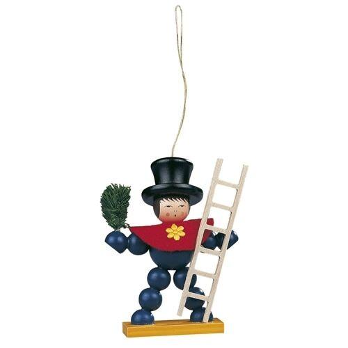 Weihnachtsdeko Weihnachtsfiguren Sammlerfigur Müller Baumbehang Pflaumentoffel