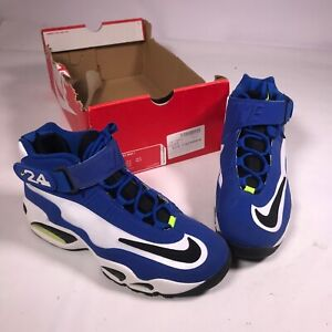 best service 06b6e 44c75 Image is loading Nike-Air-Griffey-Max-1-Varsity-Royal-Blue-