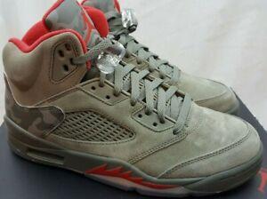 eb0ffe3562da56 Nike Air Jordan 5 V Retro Reflective Camo Dark Stucco Shoes 136027 ...