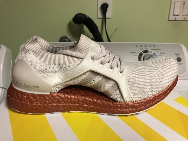 adidas Ultraboost X Ltd Running Shoes BB1973 Crystal White Ice Tech Rust  Size 10 3d0495831