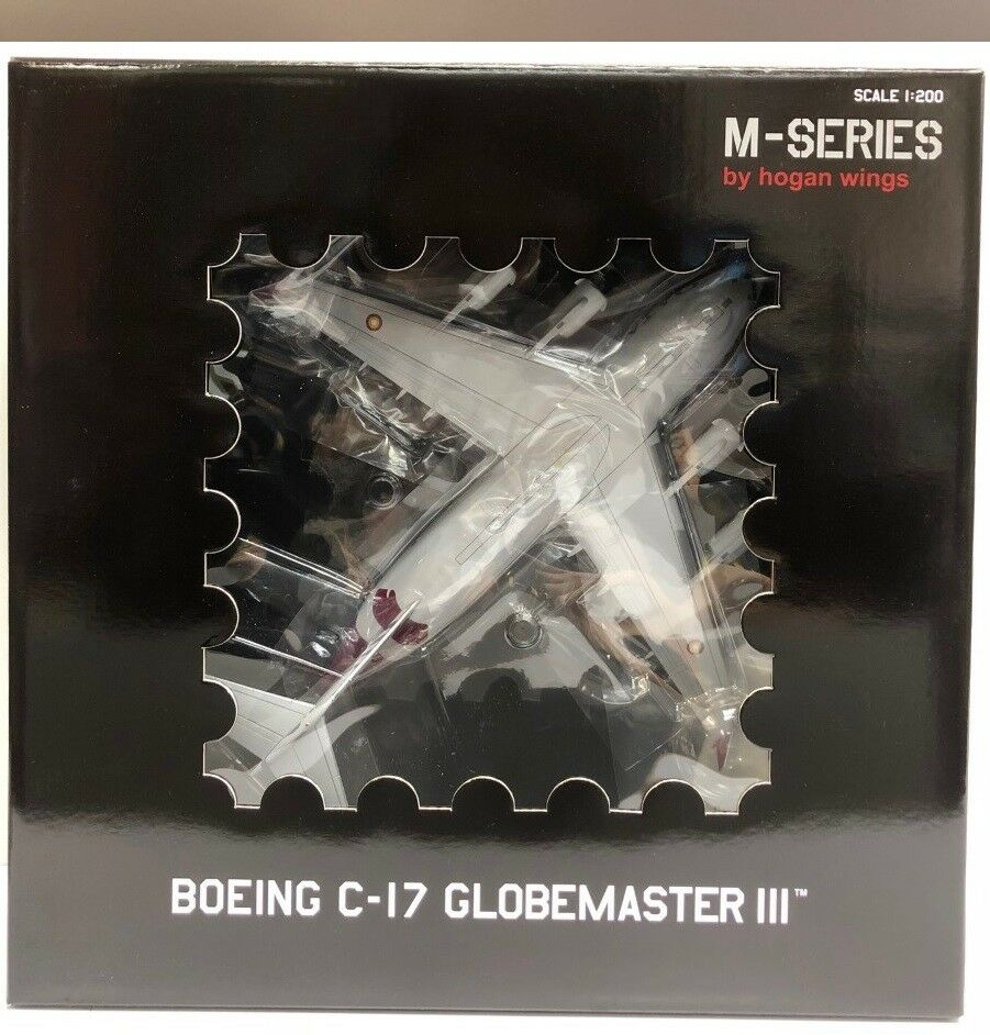 Hogan Wings 7075, C-17A, Qatar Emir Air Force A7-MAB (08-0202)1 200