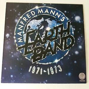 Manfred-Mann-039-s-Earth-Band-Best-of-1971-1973-Vinyl-LP-UK-1st-EX-EX-Greatest