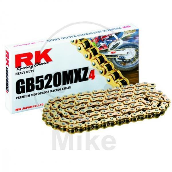 RK Cadena GB 520MXZ4/110 Extremidades Abierto con Cierre Clip GBRK520MXZ4/110