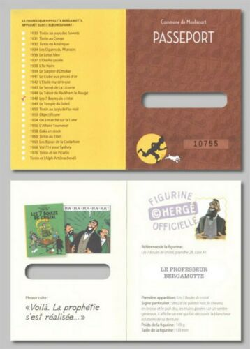 Passports Tintin of the Official Collection Choice the Passport