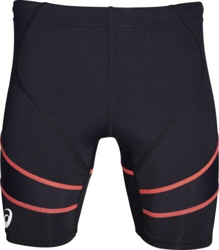 Asics TI Sprinter Mens Short Running Tights Black