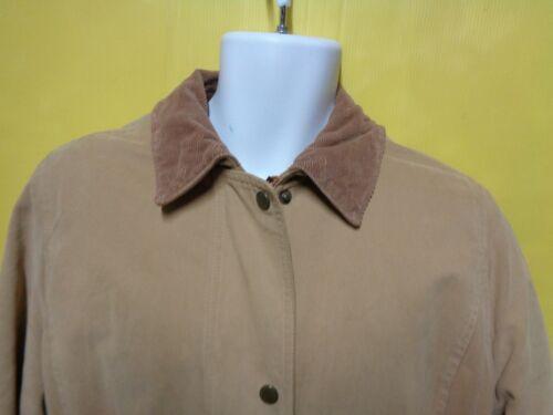 taille Manteau Veste Court Nr02 Coton Barbour 43 Femme marron beige Microfibre clair 6SqwwYE