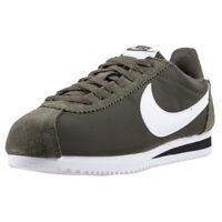 Mens Nike Classic Cortez Cargo Khaki Nylon Green Branded Footwear Shoes Trainers