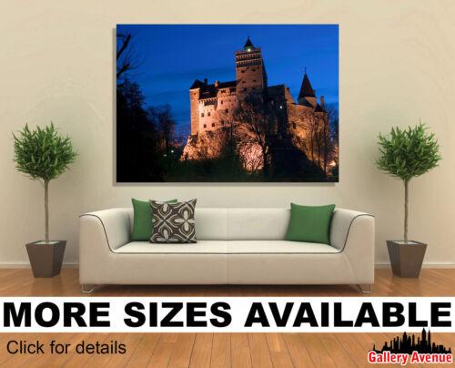 The Bran Castle Dracula/'s Castle 3.2 Wall Art Canvas Picture Print