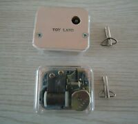 Two Music Boxes - Toy Land. New, Never Used With Keys