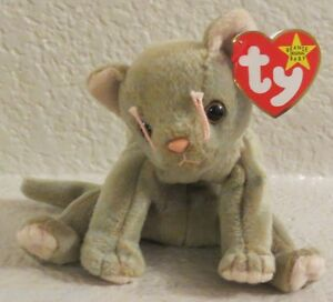 Ty Beanie Baby Scat 5th Generation Hang Tag Gasport Tag Error 1998 ... 47d4fdd3c03e
