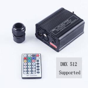 DMX Fiber Optic Engine RF Remote 16W RGBW LED Driver for Kinds of Fiber Optic