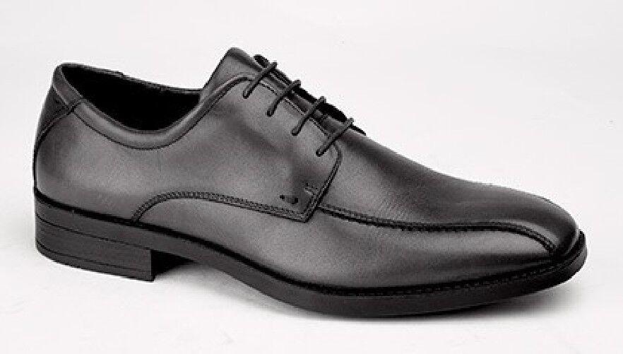 Linea uomo scarpe fashion IMAC Scarpe di di di pelle nera in pelle 1e7d3c