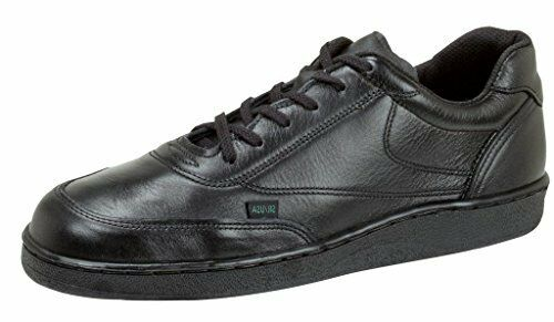 Thorogood Mens Street Black Leather Athletics Shoes Code 3 Oxford