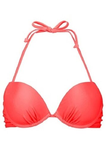 "3.4097 Push-Up Bikini-Oberteil /""neonorange/"" Gr C 40 80"