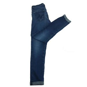 AG-Adriano-Goldschmied-The-Stilt-Cigarette-Leg-Jeans-Med-Wash-Size-25R