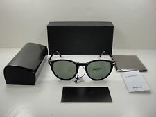 AUTHENTIC PERSOL SUNGLASSES PO3152S 901458 BLACK FRAME/POLARIZED GREEN LENS 52MM