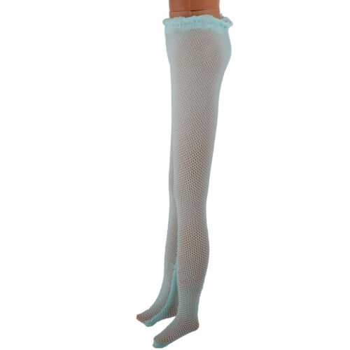 1:6 Doll Charming Stockings Tights for Blythe Doll Changing Accs Lake Blue