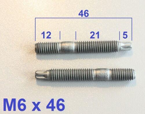 M6x45 5 Stück Torx Stehbolzen Bolzen  M6x46