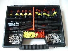 20 x Superseal Stecker Set  2 + 3-polig +Box Auto Motorrad MV AGUSTA,BENELLI