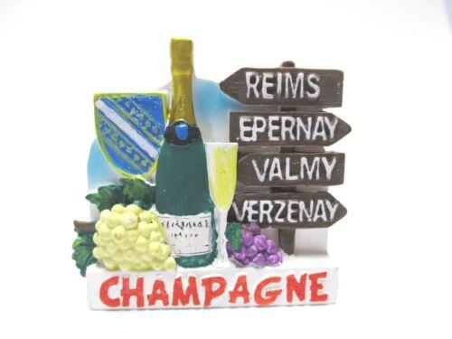 Champagne Magnet Souvenir Frankreich,Champagner,Reims,Valmy