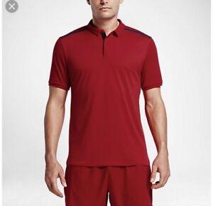 5c2616cb Nike NikeCourt x RF Nike Lab Men's Tennis Polo - Size Large Red ...