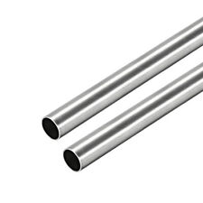 304 Stainless Steel Round Tubing 9mm Od 04mm Wall Thickness 250mm Length 2 Pcs