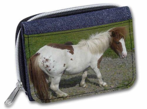 Shetland Pony Girls//Ladies Denim Purse Wallet Christmas Gift Idea AHC-3JW