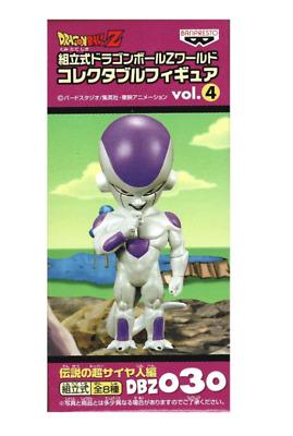 Dragon Ball Z World Collectable Figure 4 Freeza//Frieza DBZ 030 WCF From JAPAN