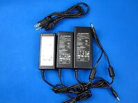 DC 12V 3A 5A 6A US Plug DC Power Supply Adapter AC 100-240V LED Lights 5.5/2.1mm