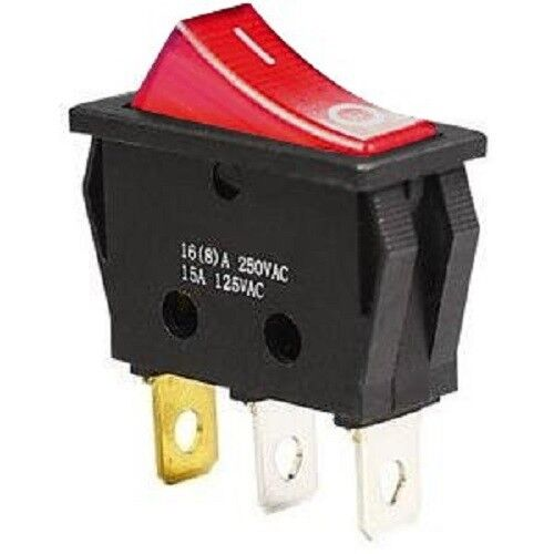 On-Off illuminated Rocker Switch for BUFFALO Catering Hot Water Boiler 10UN