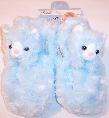 Details about  /NWT Girls Ultra Soft Pale Blue Plush Kitty Cat Muffler /& Mittens Set $45 Small