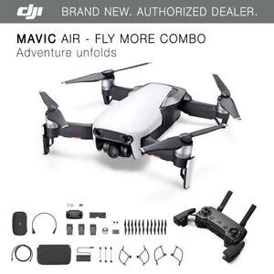 DJI-Mavic-Air-Arctic-White-Drone-Fly-More-COMBO-4K-Camera
