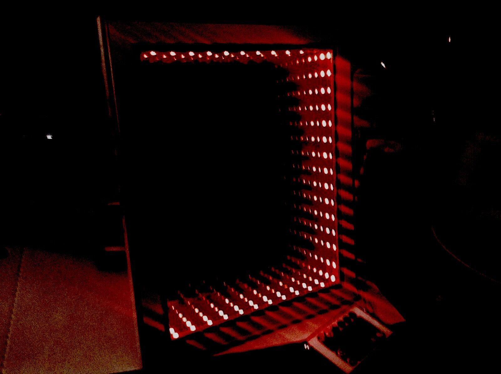 , Gift Led 3D Sensory Illuminated Infinity Illusion Handmade mirror 17 x21