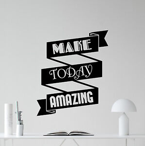 Office Motivation Quote Wall Decal Business Vinyl Sticker Poster - Vinyl wall decals business