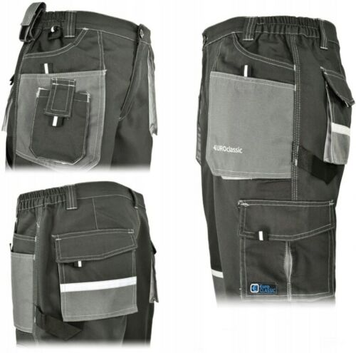Details about  /Work Trousers Mens Cargo Combat Heavy Knee pads pockets euro classic
