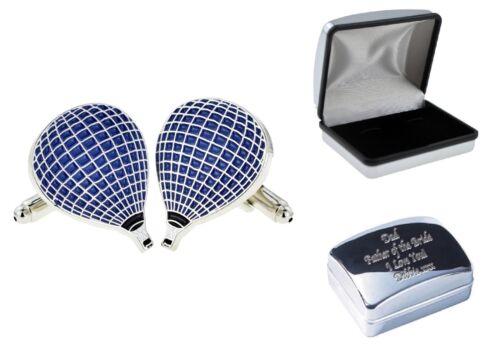 Hot Air Balloon Gemelos opción de actualización Grabado Personalizado caso xjkc-B2-05